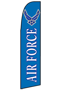 Air Force Feather Flag