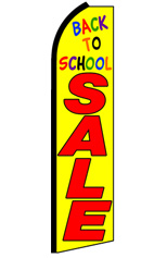 BACK TO SCHOOL SALE (Big) Feather Flag