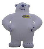 Custom Inflatable Bear 1