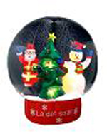 Custom Inflatable Christmas Globe