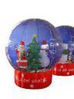 Custom Inflatable Christmas Globe 2