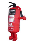 Custom Inflatable Fire Extinguisher