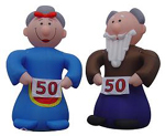 Custom Inflatable Old Couple