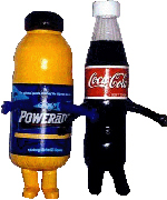Custom Inflatable Powerade Coke