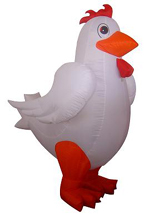 Custom Inflatable Rooster