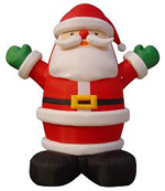 Custom Inflatable Santa Clause 1