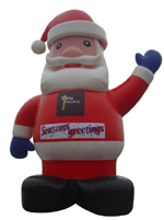 Custom Inflatable Santa Clause 2
