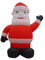 Custom Inflatable Santa Clause 4