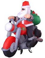 Custom Inflatable Santa Clause 5