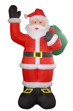Custom Inflatable Santa Clause 6