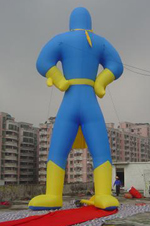 Custom Inflatable Super Hero