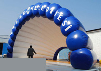 Custom Inflatable Tunnel 5