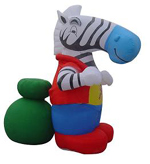 Custom Inflatable Zebra