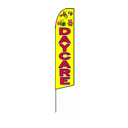 Daycare Feather Flag