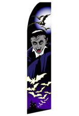 Dracula - Halloween Feather Flag