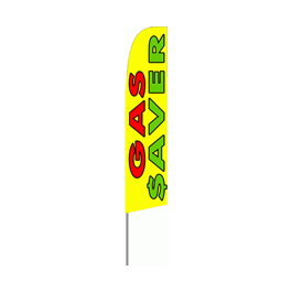 Gas Saver Feather Flag