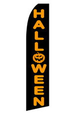 Halloween Feather Flag