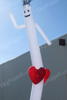 Heart Custom Sky Puppet - 20 Ft.