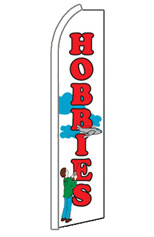 HOBBIES Feather Flag