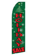 Holiday Sale - Christmas Feather Flag