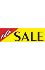 Huge Sale Vinyl Ad Banner 3 x 10 ft