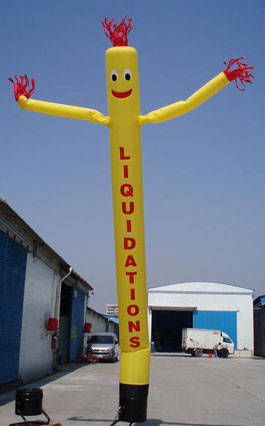Liquidations SkyPuppet - Yellow (Single-Sided) - 20 Ft.