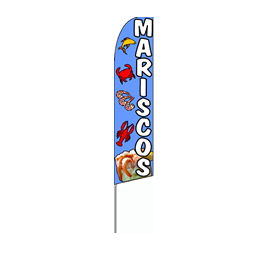 MARISCOS Feather Flag