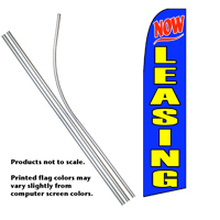 Now Leasing Feather Flag #3