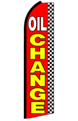 Oil Change (Checkered) Flag