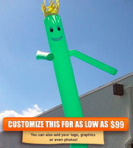 Plain Green Sky Puppet - 20 Ft.