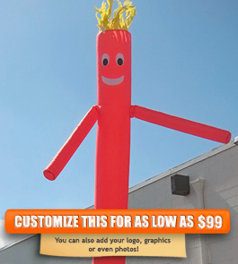 Plain Red Sky Puppet - 20 Ft.