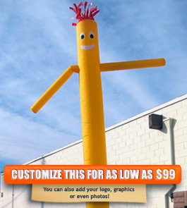 Plain Yellow Sky Puppet - 20 Ft.