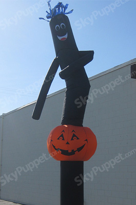 Pumpkin Custom Sky Puppet - 20 Ft.