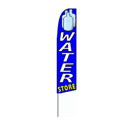Water Store Feather Flag