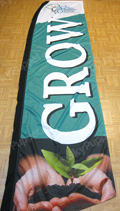 Grow Custom Feather Flag