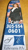 Immigration Attorney Custom Feather Flag