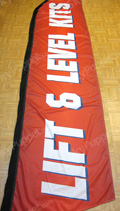 Lift & Level Kits Custom Feather Flag