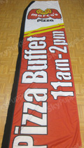 Marcos Pizza Custom Feather Flag
