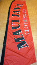 Maui Java Custom Feather Flag