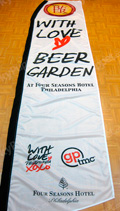 Philly Beer Week Custom Feather Flag