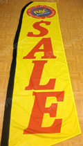 RAC Sale Custom Feather Flag
