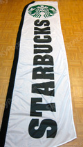 Starbuck Coffee Custom Feather Flag