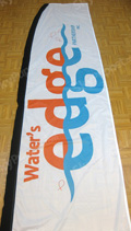 Waters Edge Church Custom Feather Flag