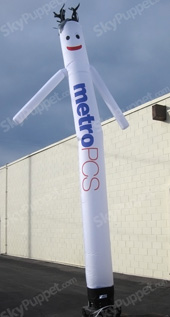 Metro PCS White Mix n Match Sky Puppet