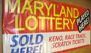Maryland Lottery Vinyl Banner
