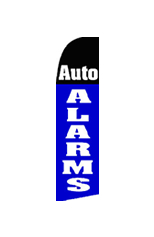 Auto Alarm Feather Flag #3