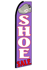 Shoe Sale Feather Flag