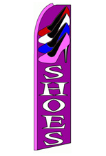 Shoes Feather Flag