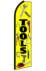 TOOLS Feather Flag